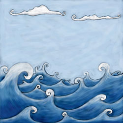 Marine Mer & nuages - Painter