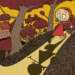 Illustration - Le Petit Chaperon rouge - Photoshop
