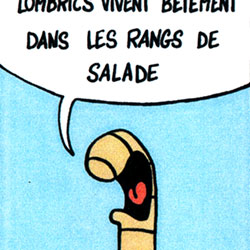 Strip BD Henry Le Lombric